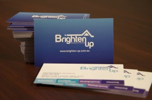 Business Card - Brighten Up