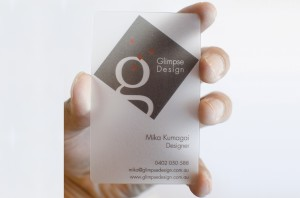 Business Card - GlimpseDesign
