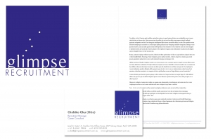 Corporate Branding - Glimpse Recruitment